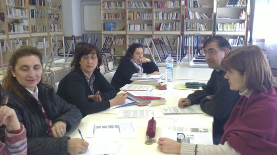 Grupo de trabajo de profesores