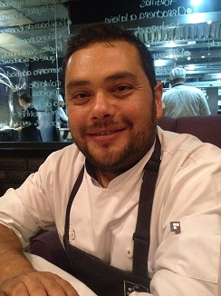 Arturo Fernández, del restaurante Raíz