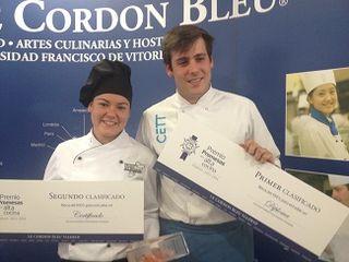 Lola Hedrera y Víctor Ródenas, recién proclamados ganadores del concurso