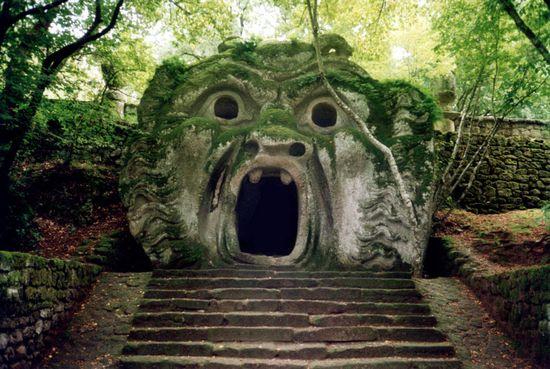 Bomarzo, el jardín de los monstruos. (Viterbo, Italia).