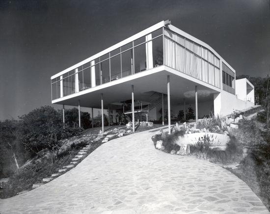 Casa de Vidro - Francisco Albuquerque, Arquivo Lina Bo e P.M. Bardi, 1952