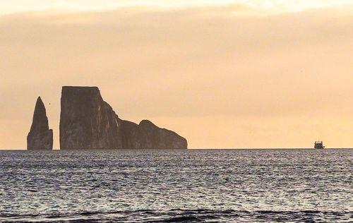 Atardecer en isla San Cristóbal