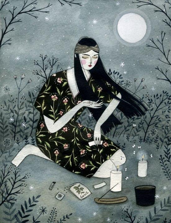 Yelena Bryksenkova love-spell