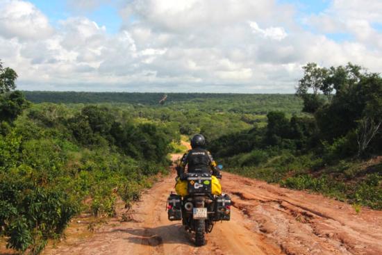 Pista a la frontera de Tanzania