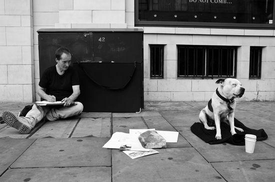 John Dolan along Shoreditch High Street (Credit - Rob Weir)