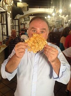 El cocinero José Andrés, un fan de Casa Balbino