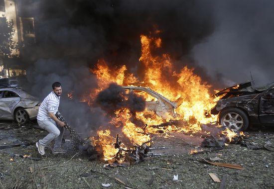 Atentado en Beirut_ASSOCIATED PRESS
