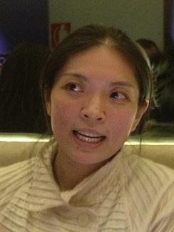 La cocinera Bo, en el restaurante Álbora