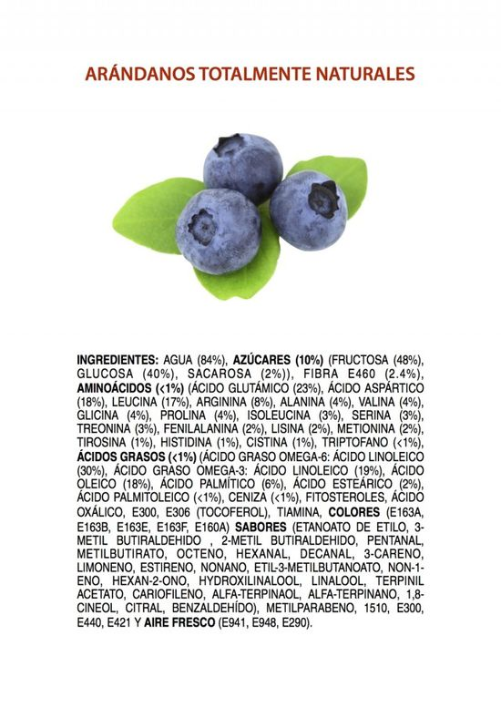 Ingredients-of-All-Natural-Blueberries-POSTER-SPANISH-640x904