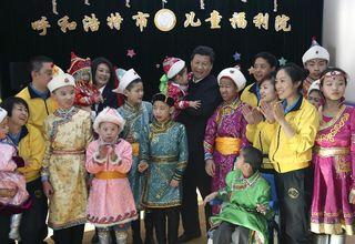 El presidente chiho, Xi Jinping, en la región autónoma de Mongollia Interior, el pasado 28 de enero. (Xinhua)