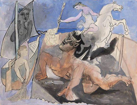 Composición con Minotauro