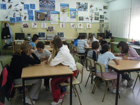 Estudiantes de Primaria