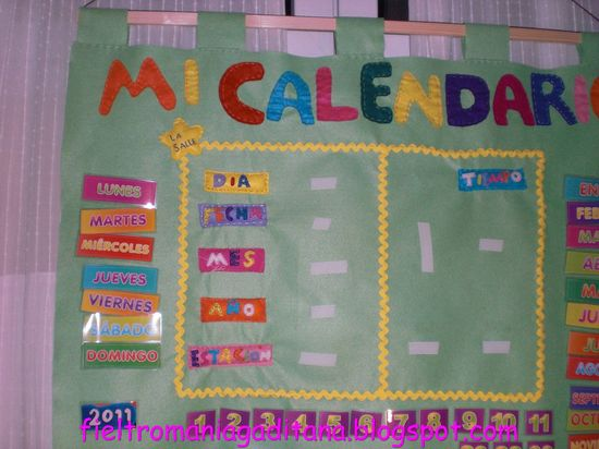 Calendario clase