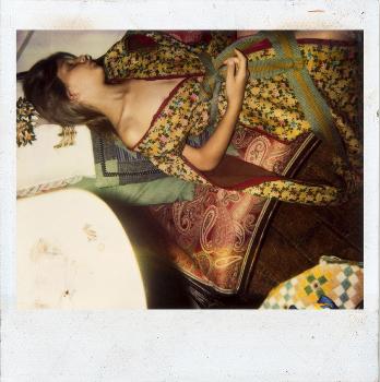 Balthus Polaroid