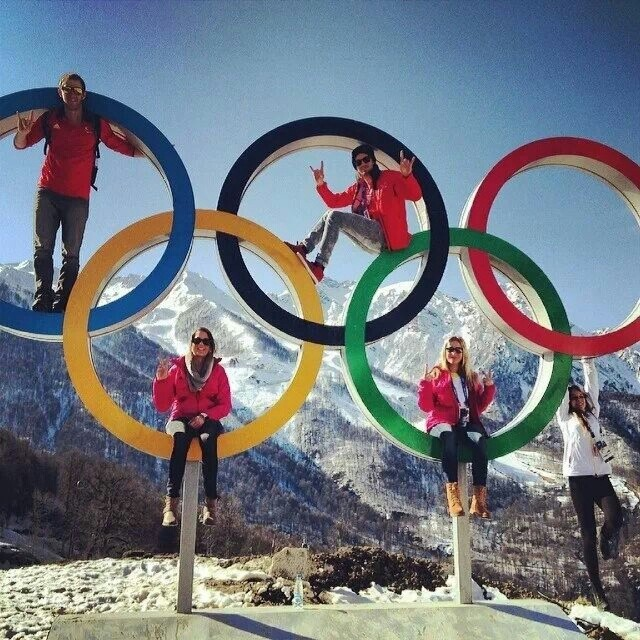 Classic olimpics photo at sochi