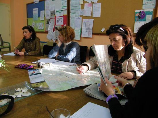 Reunión de profesoras