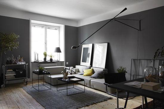 Un sofá en ángulo siempre favorece la conversación