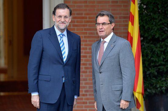 Rajoy and Mas