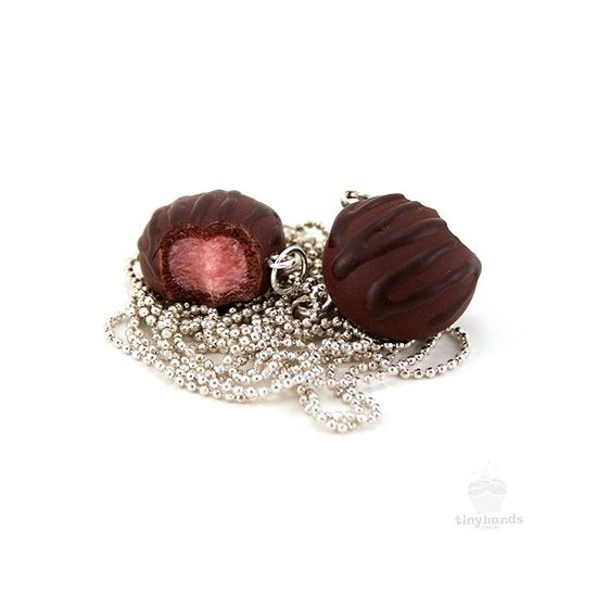 Scented-cherry-chocolate-truffle-necklace
