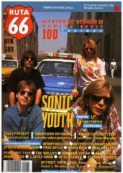 Sonic Youth Ruta 66