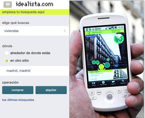 Aplicacion idealista 500
