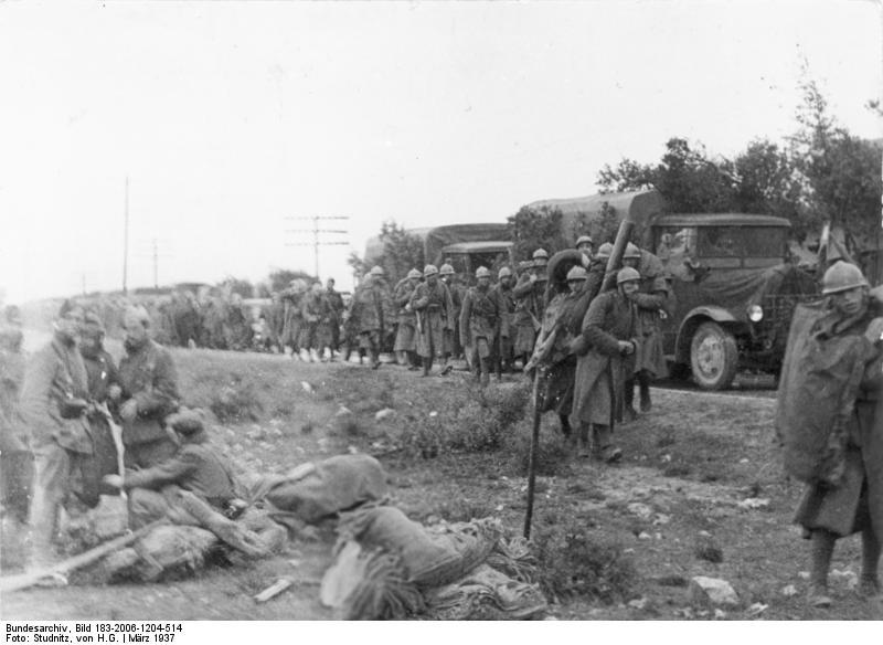 Fuerzas italianas en la guerra civil
