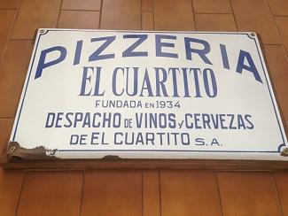 Emblemática pizzeria de Buenos Aires