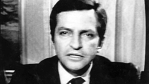 Adolfo Suárez en el discurs de dimissió (1981)