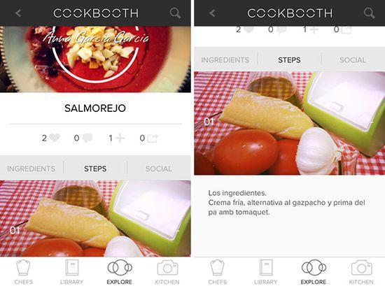 Cookbooth, el Instagram de las foto-recetas >> El Comidista >> Blogs EL PAÍS