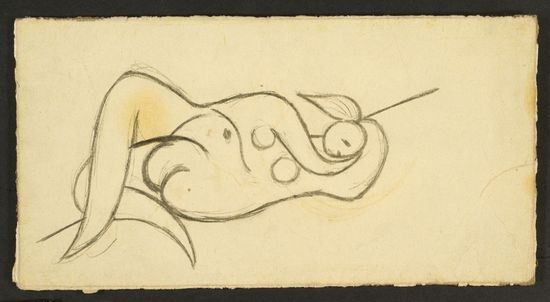 Picasso_femme nue couchee_3655
