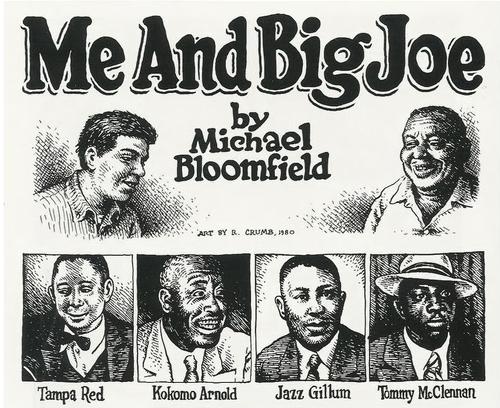MICHAEL-BLOOMFIELD por Robert Crumb