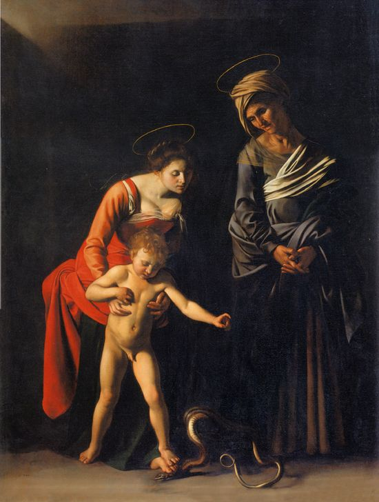 Caravaggio niño