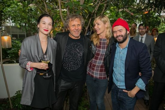 Christine Phung, Renzo Rosso, Nathalie Dufour et Alexandre Matiussi
