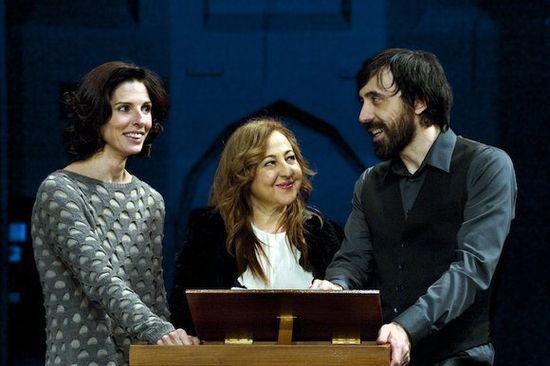 Beatriz Argüello, Carmen Machi e Israel Elejalde - foto Daniel Alonso