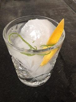 Gin tonic con aloe vera de Javi Baltazares