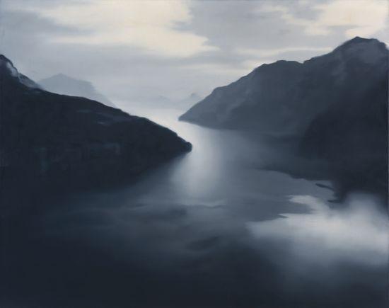 Gerhard Richter - Vierwaldstätter 1969