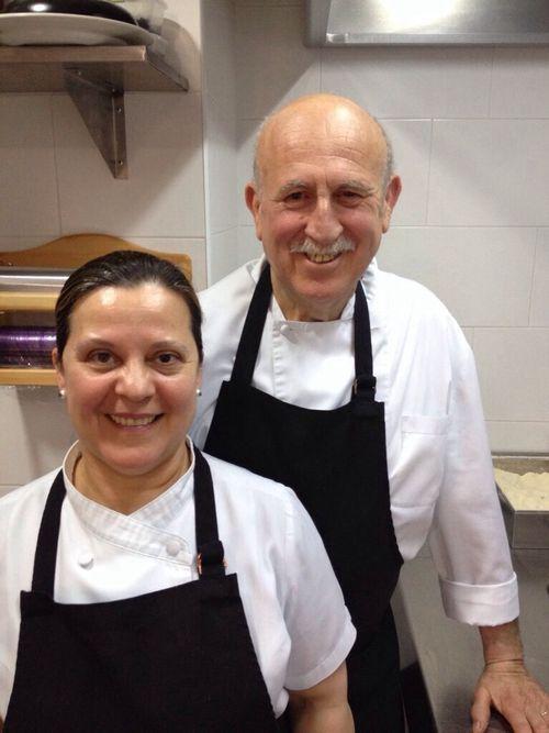 Teresa Ortiz y Miguel Palomo, propietarios de Alhucemas