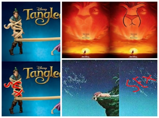 Disney subliminal