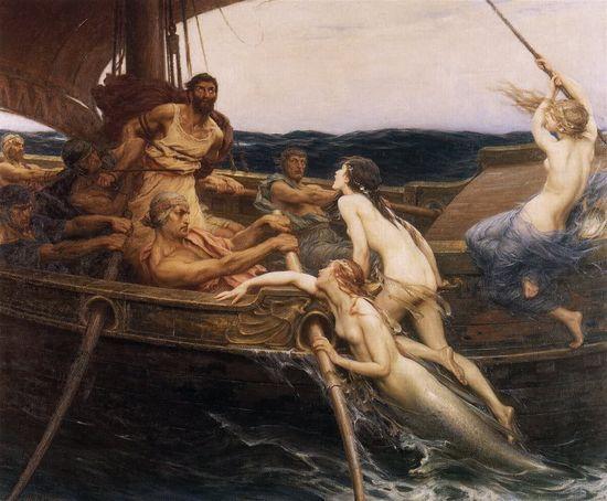 SIRENAS Herbert_James_Draper,_Ulysses_and_the_Sirens