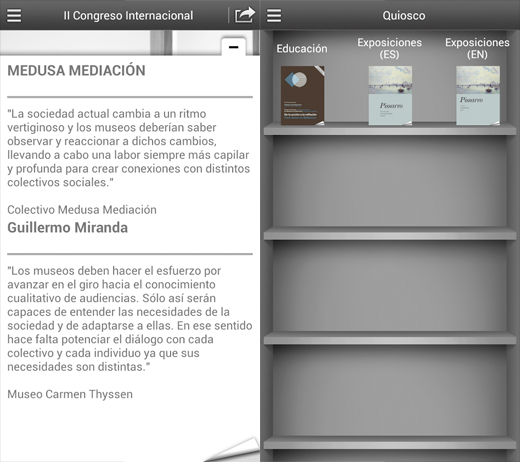 Quiosco thyssen app