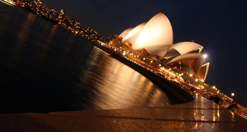 Opera House desde el paseo