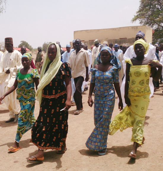 Nigeria estudiantes liberadas