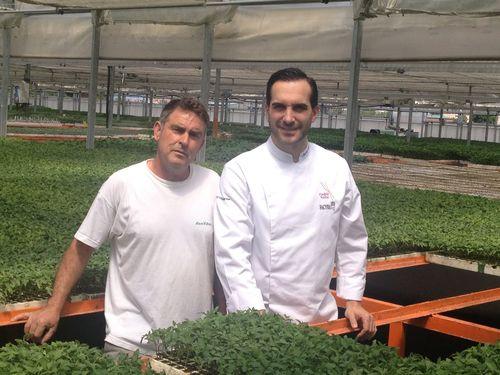 Mario Sandoval y Rafael Escolar, un horticultor contemporáneo