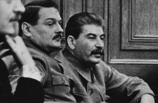 Stalin Andrei Zhdánov.