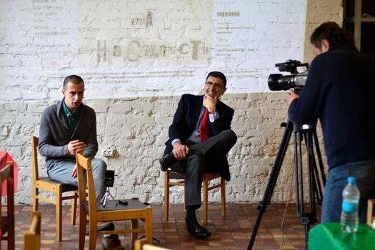 Paco de Blas en festival literatura