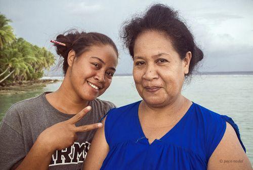 Mujeres Kapingamarangi-Paco Nadal