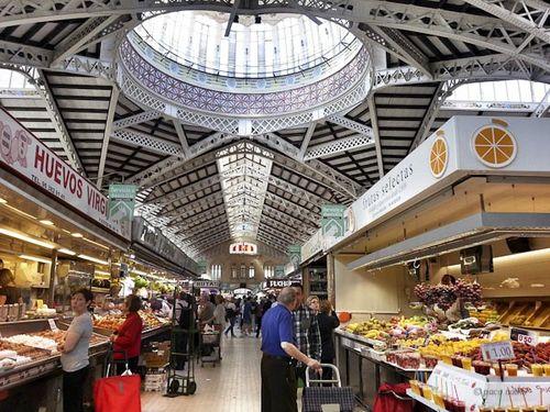 Mercado Central, Valencia-Paco Nadal