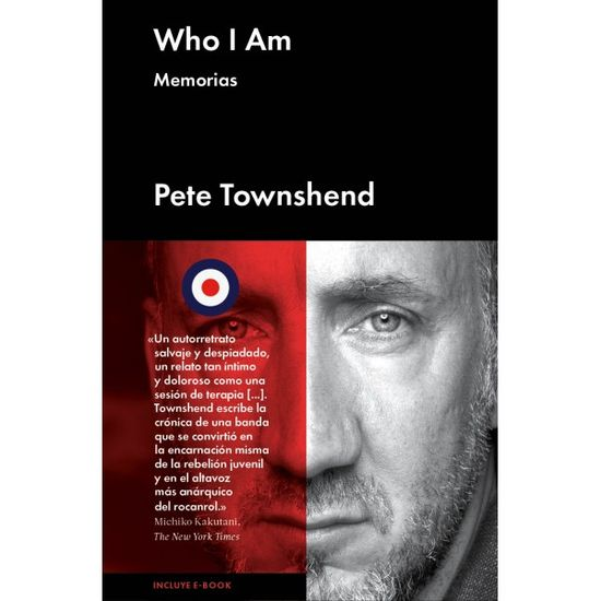 Pete Townshend Memorías who-i-am-memorias