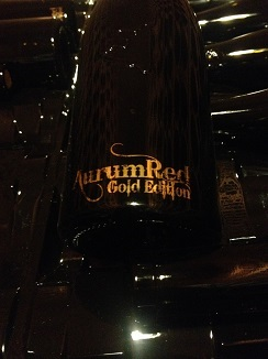 Aurum Red Serie Oro. Solo 300 botellas al año que se cotizan en el extranjero (China y Estados Unidos) a 17.000 euros cada una