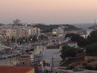 Vista de Ciudadela donde El franciscano Fra Roger escribió su recetario